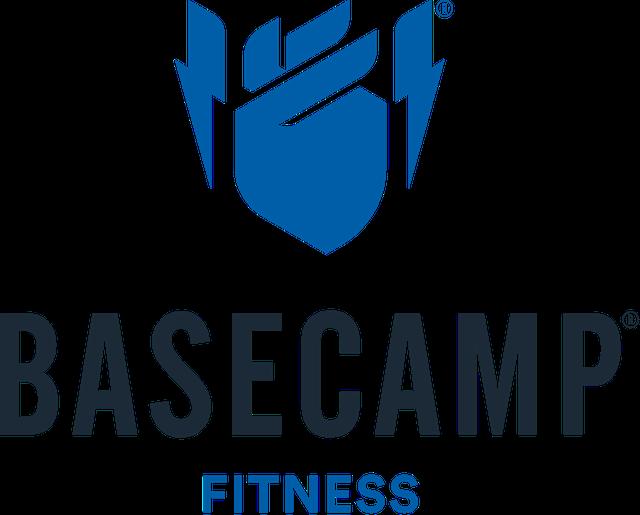 Basecamp Logo Stacked White Backdrop