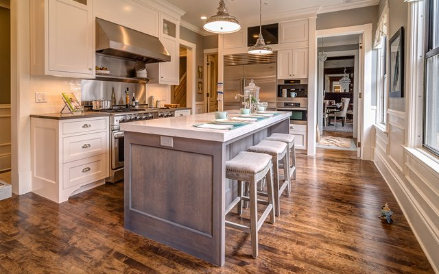 The kitchen in the 2013 ASID Showcase Home