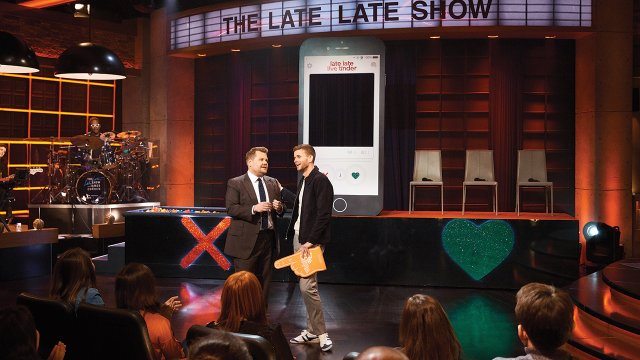 Collin Martin at The Late Late Show with James Corden