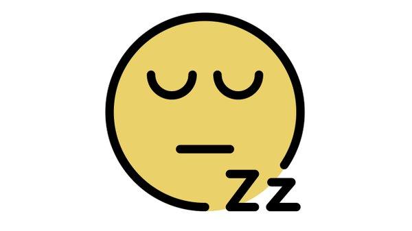 sleeping face