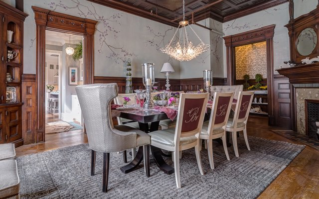 Dining room in the 2013 ASID Showcase Home / Photo by K...