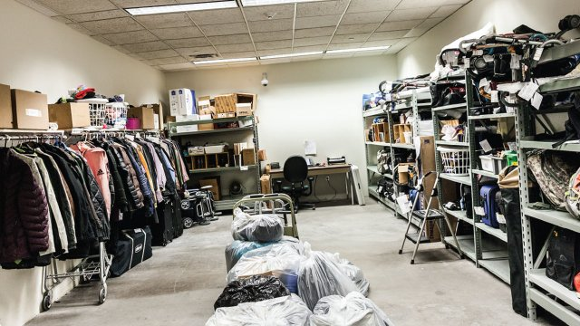 Items at Airport Lost and Found