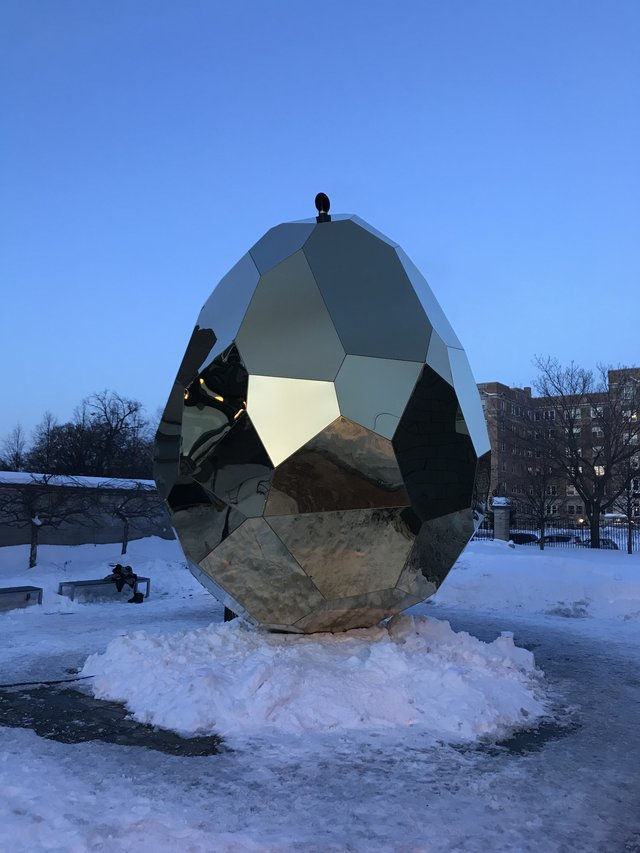 Solar Egg at the American Swedish Institute