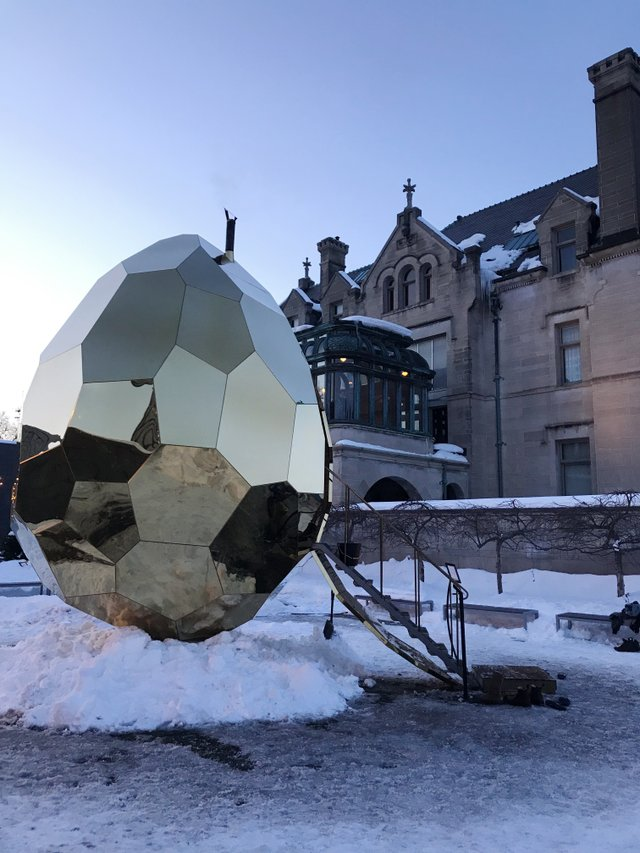 The Solar Egg at the American Swedish Institute