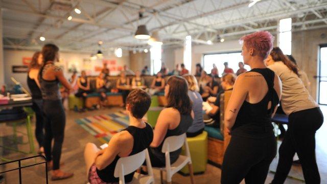 Twin Cities' Women Climbing Workshops