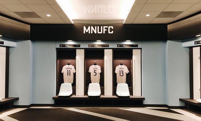 Allianz Field Locker Room