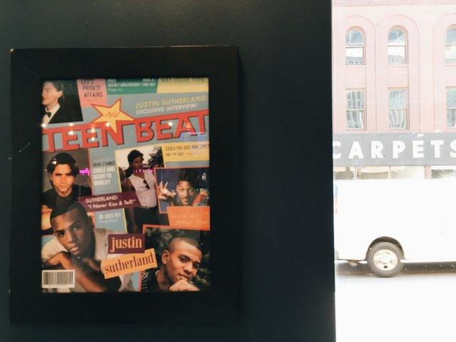 Cover of Teen Beat Magazine
