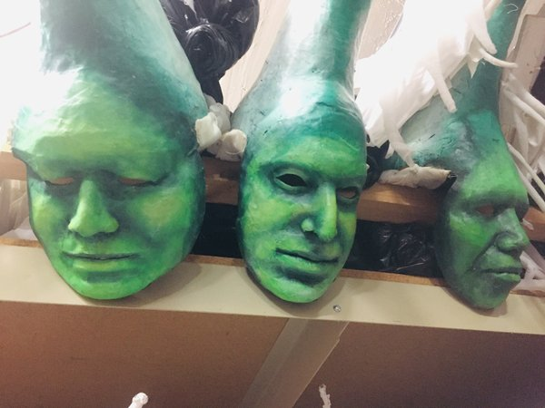 Heart of the Beast Puppet and Mask Theater puppet storage