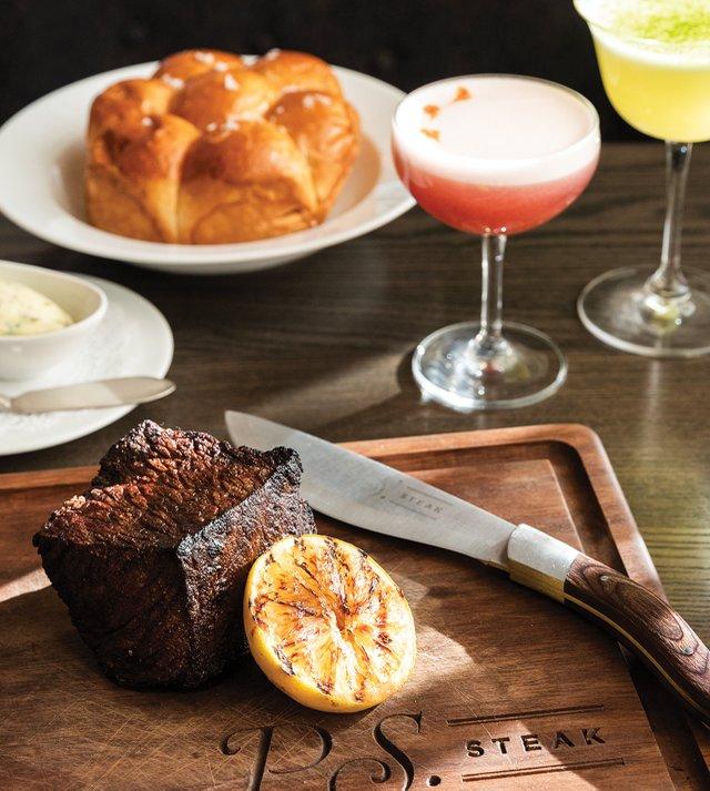 Denver steak at P.S. steak
