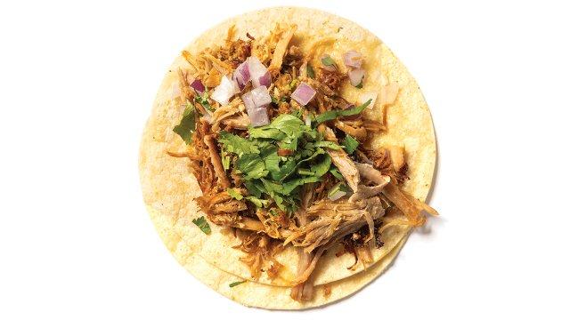 Nico's Tacos on Como: Carnitas Taco