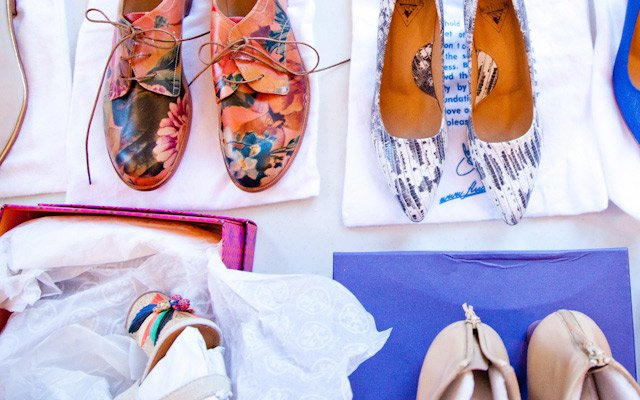 Shoe options at Mpls.St.Paul Magazine's spring fashion ...
