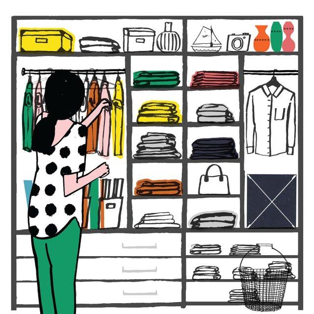 Marie Kondo your closet