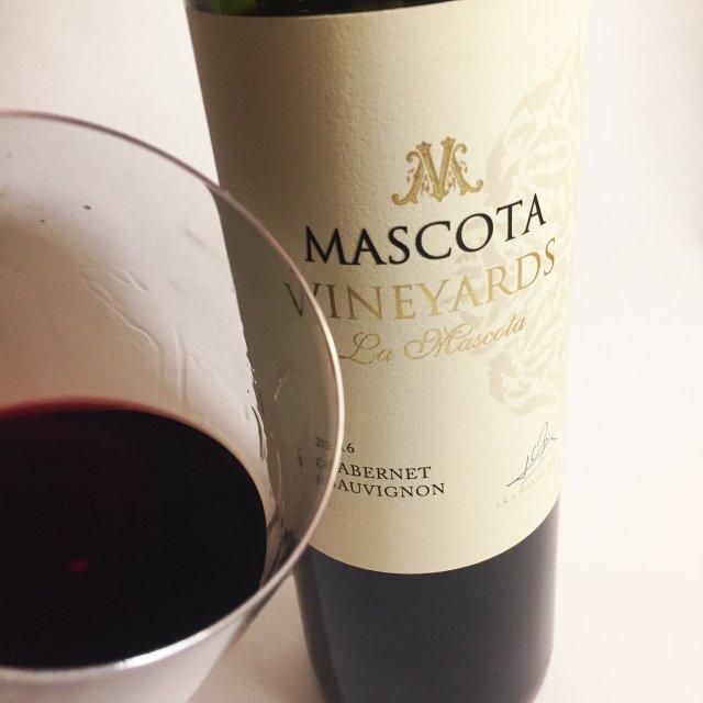bottle of Mascota Cabernet Sauvignon