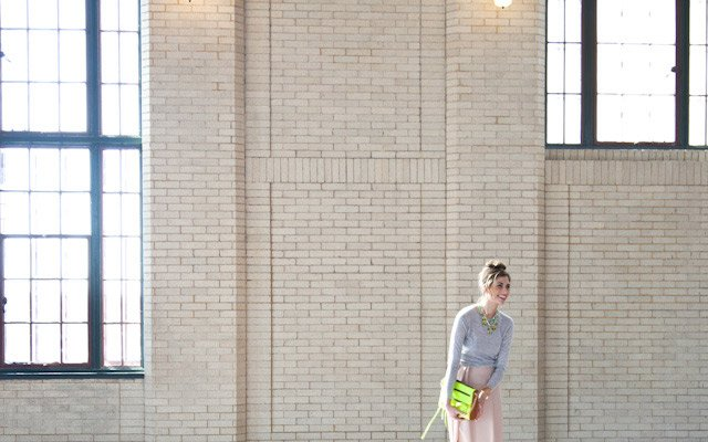 Laura Penton modeling for a photograph during Mpls.St.P...