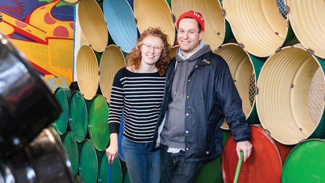 Jennifer and Chris Pennington at Can Can Wonderland