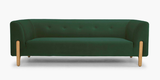 Spruce green Alma sofa