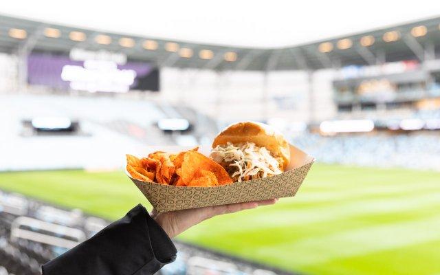 Allianz Field Handsome Hog BBQ Sandwich
