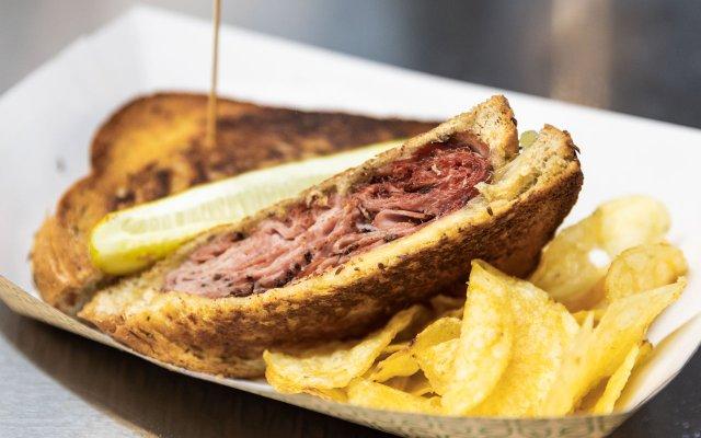 Allianz Field Cecil's Hot Pastrami Sandwich