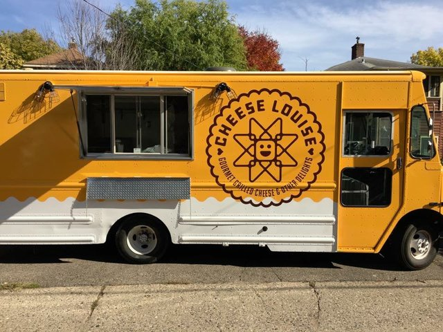 Cheese Louise food truck