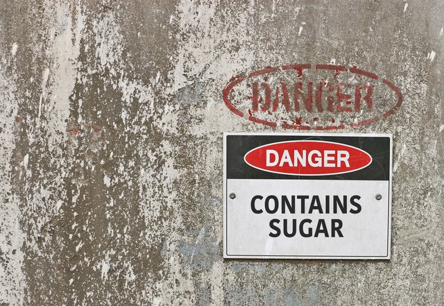 Caution: Sugar Sign