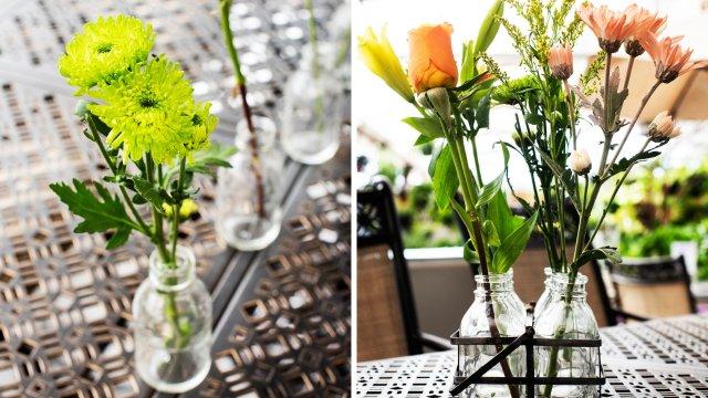 Eclectic Floral Arrangements