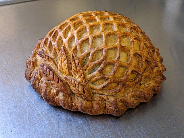 Ratatouille pie from Quebracho