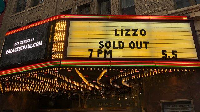 Lizzo, Palace Theatre