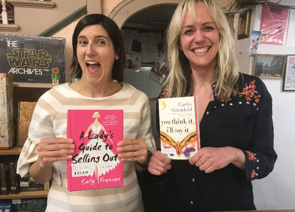Curtis Sittenfeld with Sally Franson