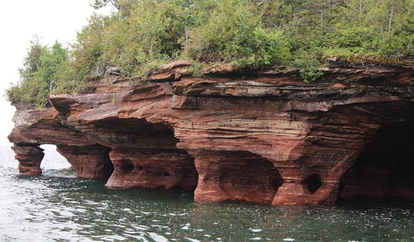 The Apostle Islands on Lake Superior