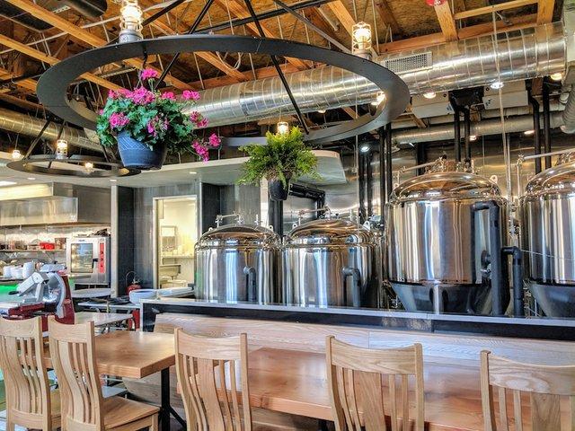 Shiny new brew tanks