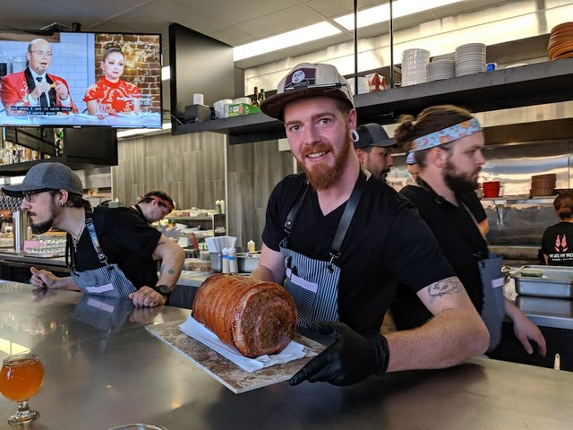 Willy and his porchetta