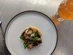 Wild mushroom and char toast