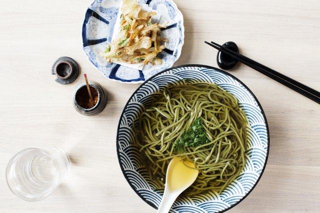 Noodle bowl at Kado No Mise