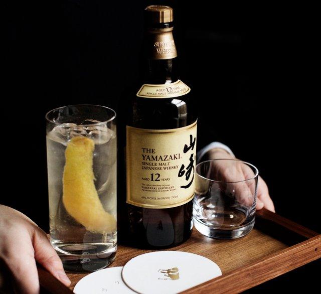 Bottle of whiskey at Kado No Mise