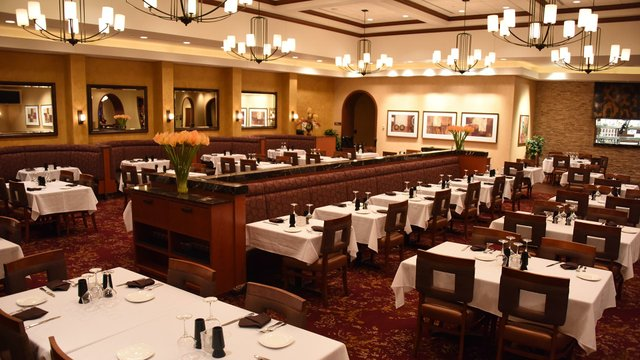 Dining area at Steakhouse