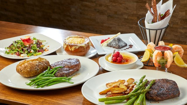 Spread at Steakhouse
