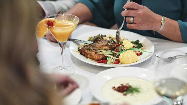 A plate of food during Restaurant Week