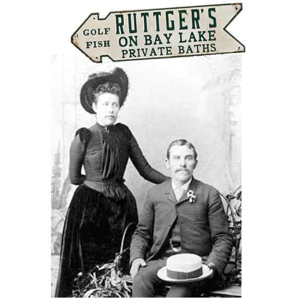 Joseph Ruttger and his wife Josephine