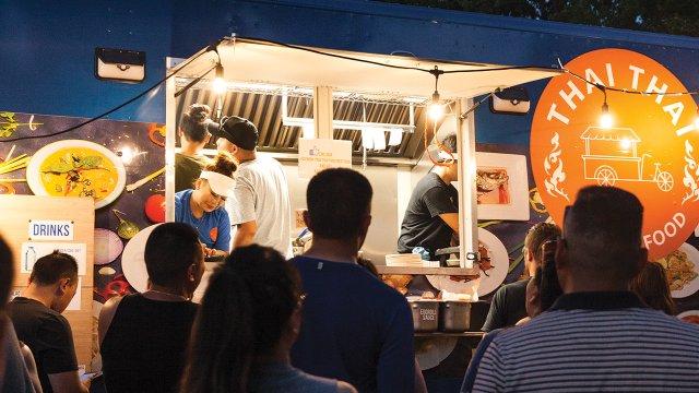 Thai Thai Street Food stars under the bright lights