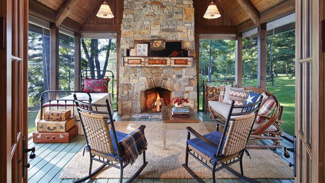 rustic modern in the Northwoods