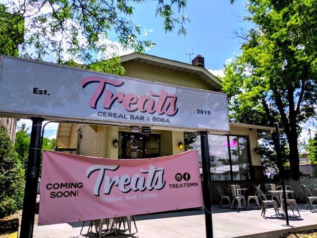 Outside Treats Cereal Bar and Boba