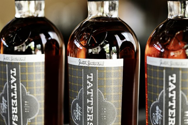 The new Justin Sutherland signature single malt whiskey from Tattersall Distilling