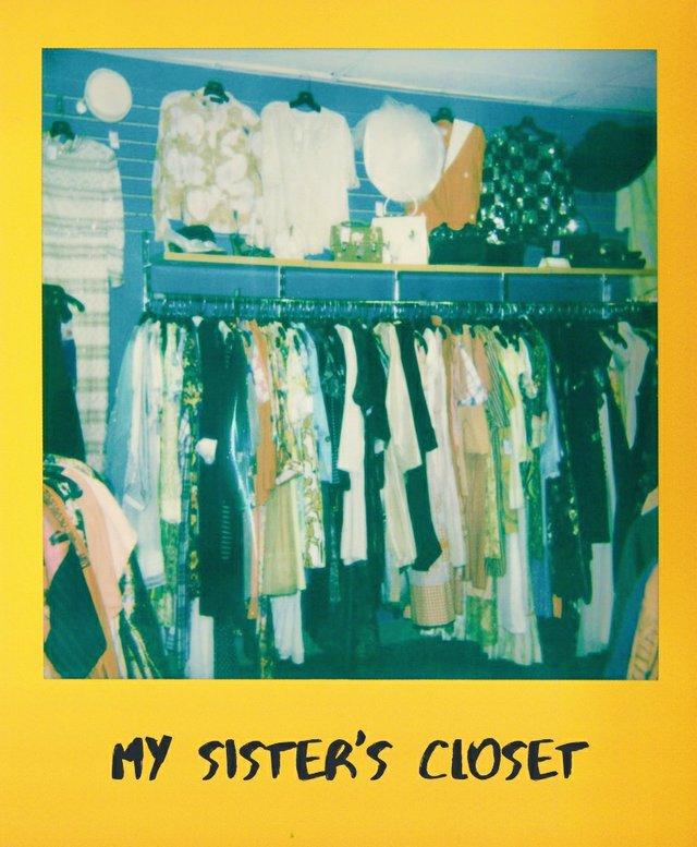 My Sister's Closet clothing racks
