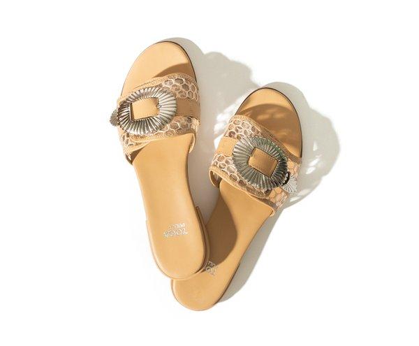 western buckle sandal by Toga-Pulla