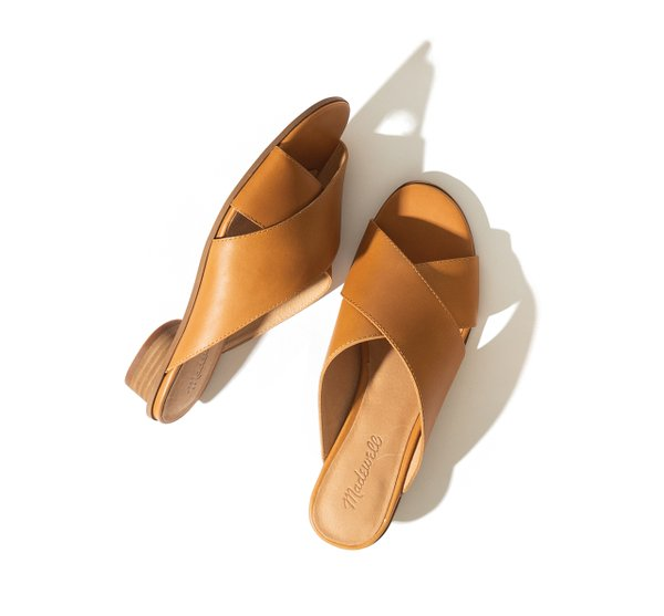 crisscross leather sandal also from Madewell