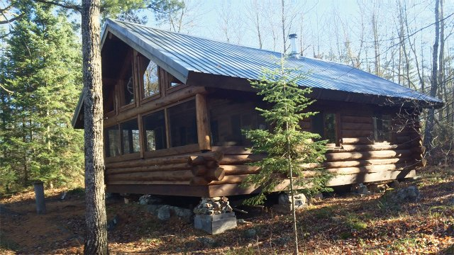 the  Remes's cabin.