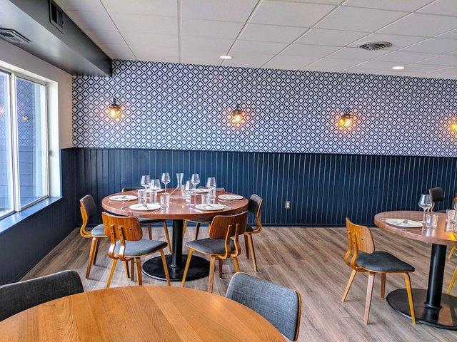Dining room at Vann