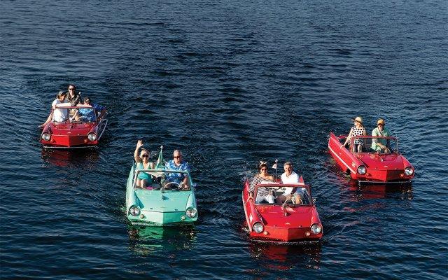 Amphicars of Lake Minnetonka