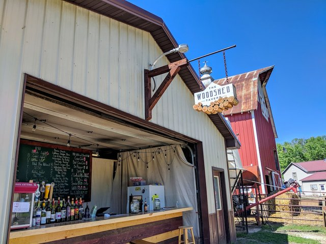 The Woodshed Tavern at Together Farms
