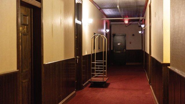Hallway of Calumet Inn